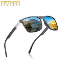 KEITHION TR-90 Polarized Mens Business Sunglasses Casual Matte Texture Eyewear