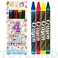 1 / 6 / 12 PACKS OF COLOURING CRAYONS BOY GIRLS FAVOR BIRTHDAY PARTY BAG FILLERS