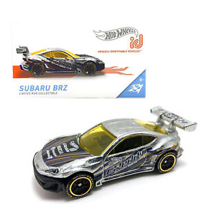 Hot Wheels id Subaru BRZ Kids Diecast Limited Collectible Toy Car App Game 8+