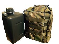 TAS 2 Lt Water Canteen with MULTICAM Pouch Bottle and carrier