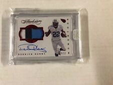 DERRICK HENRY 2016 FLAWLESS ROOKIE AUTO 3 COLOR JERSEY PATCH BGS RAW 9 04/10