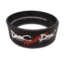 **License** Devil May Cry DMC Logo PVC Wristband #64025