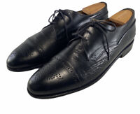 Johnston and Murphy Cap Toe Medallion Oxford  Shoes #15 3185 Mens Size Us 11 M