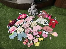 COLLECTION OF BEAR FACTORY CLOTHING INCLUDING RABBIT BEAR AND MINI RABBIT BEAR
