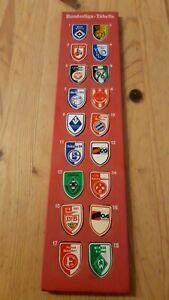 Magnettabelle Fußball Bundesliga Stuco 4711 Tabelle Magnettafel