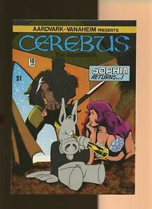 Cerebus the Aardvark 10 NM 9.2 * 1 Book Lot * Dave Sim! Aardvark-Vannahiem 1979!