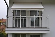 Angerer Klemmmarkise beige 300 cm Balkonmarkise Markise Balkon Handkurbel