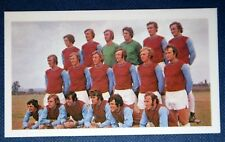 West Ham United      Superb  Original Vintage Colour 1971 Team Photo Card
