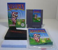 NES Open Tournament Golf Nintendo NES Spiel in OVP mit Anleitung