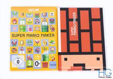 Super Mario Maker / Art Book - Nintendo Wii U Game & Case PAL