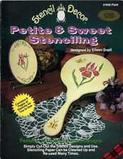 STENCILING Decor PETITE & SWEET Patterns by PLAID # 7656