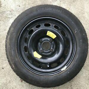 PEUGEOT 308 2008-2013 SPARE WHEEL AND TYRE CONTINENTAL 205/55/16