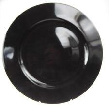 Hutschenreuther Platzteller schwarz Porzellan rundl 31 cm  -NEU- RARITÄT