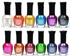 KLEANCOLOR Metallic Nail Polish Set 12 PACK Full Size Nail Lacquer Beauty Makeup