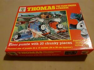 Thomas The Tank Engine And Friends Floor Puzzle 20 Pieces Michael Stanfield