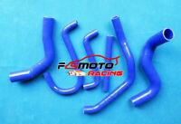 Silicone Radiator Hose For Ford Falcon EF EL 4.0L 6cyl DF DL NF NL XR6 94-98 BLU
