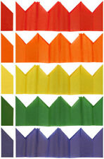 100 Cracker Hats - Assorted Colours - Christmas Tissue Paper Birthday