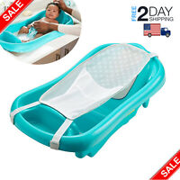 Baby Infant Bath Tub Safety Seat Bathing Newborn Shower Mesh Sling Toddler