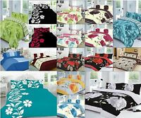 Duvet Cover  + Pillowcases Quilt Cover Bedding Set Or Matching Curtains NZ