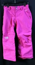 THE NORTH FACE~ SKI SNOW PANTS INSULATED HYVENT. PINK.  GIRL'S SIZE MED (10-12)