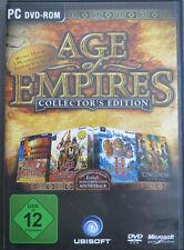 Age of Empires Collectors Edition Super PC Klassiker mit Soundtrack in DVD Hülle