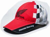 Honda Japan Circuit Racing Logo Cap Car accessory Red 0SYEP-S9D-RF