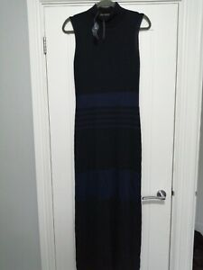 Planet Sheer Long Knitted Dress Size S BNWT