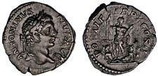 DENARIUS-DENARIO. Ag. CARACALLA. IMPERIO ROMANO. RSC 441. VF/MBC.
