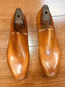 VINTAGE WOODEN SHOE LASTS ~ 11D ~ MADE IN 1956 ~ EXC CONDITION