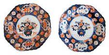 assiettes Japon Imari en paire époque XIXème