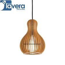 Ideal Lux Citrus-3 Sp1 Lampada a Sospensione moderna Lampadario Sala in legno