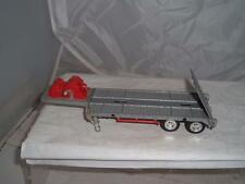 HONG KONG DIECAST PLASTIC LOW LOADER TRAILER REQUIRES A TRACTOR UNIT SEE PHOTOS