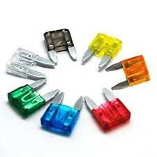 30 X ASSORTED  MINI  AUTO CAR VAN  BLADE FUSES  WIRING CABLE TOYOTA NISSAN ETC
