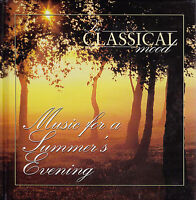 THE CLASSICAL MOOD Music For A Summer's Evening CD + Book