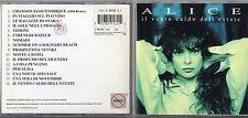 ALICE CD fuori catalogo IL VENTO CALDO DELL'ESTATE  1A ediz 1994 + 1 REMIX