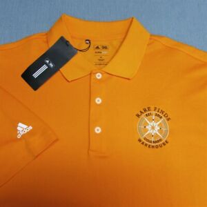 ADIDAS CLIMALITE POLY GOLF SHIRT--XL--RARE FINDS WAREHOUSE-UNWORN!!--NEW!!TAGS!!