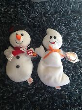 Spooky And Snowball Beanie Babys Lot Of 2