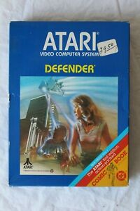 Brand New In Box DEFENDER Atari 2600 1981 - Factory Sealed VINTAGE Video GAME