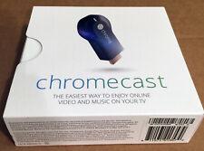 Google Chromecast 1st Generation H2G2-42 Black HDMI Media Streamer BRAND NEW!!!
