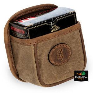 NEW BROWNING SANTA FE SINGLE SHELL BOX CARRIER TRAP POUCH BUCKMARK LOGO