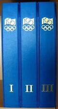 s501) Olympische Spiele 100 Jahre IOC  Sammlung 1994 **/ 89 FDC in 3 Ringbindern