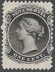 Nova Scotia Scott Number 8 Queen Victoria F NG Cat $5 #1