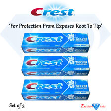 Crest Toothpaste Cavity Decay Prevention Fresh Mint Oral Care - 100ml x 3