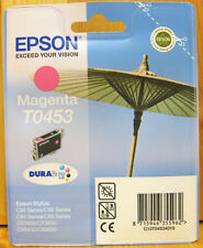 Epson T0453 ORIGINE Magenta Cartouche. New & Sealed.