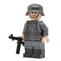 Lego Custom WW2 German NCO Full Custom Printing -NEW- Brickarms MP40