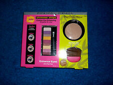 PHYSICIANS FORMULA SHIMMER STRIPS EYE SHADOW FACE POWDER GLAMOUR MAKEUP KIT NWT