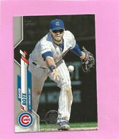 2020 Topps 582 Montgomery Club Foil Stamp #311 David Bote Chicago Cubs