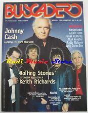 BUSCADERO 240 Jonny Cash Rollig Stones Keith Richards Bob Dylan U2 NO cd vhs *