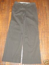 ANN TAYLOR Loft * Marisa * CHOCOLATE BROWN Pants * STRETCH Dress Work * 0 or 2