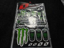 MONSTER RACING STICKER KIT